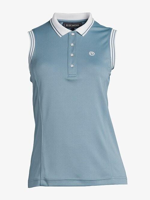 Minna polo shirt, Aqua