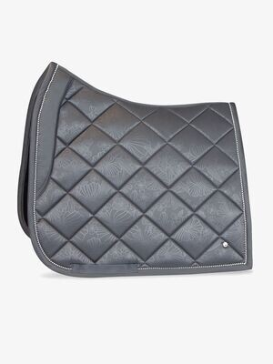 Dressage Saddle Pad, Grey, Floret