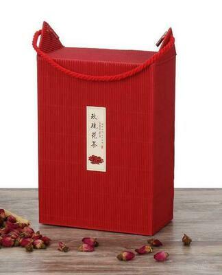 """Коробка подарочная  """"Red"""" с ручкой"""