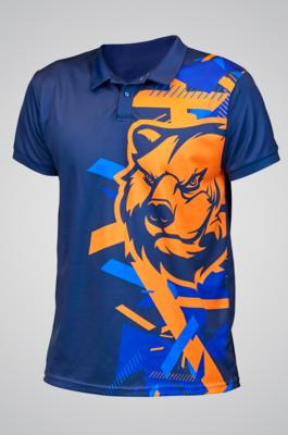 Рубашка-поло с коротким рукавом