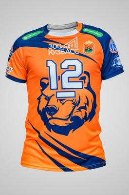 Игровая футболка оригинальная (оранжевая)