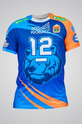 Игровая футболка оригинальная (синяя)
