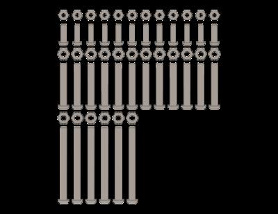 SidelinER® PRO Hardware Kit - Hubs