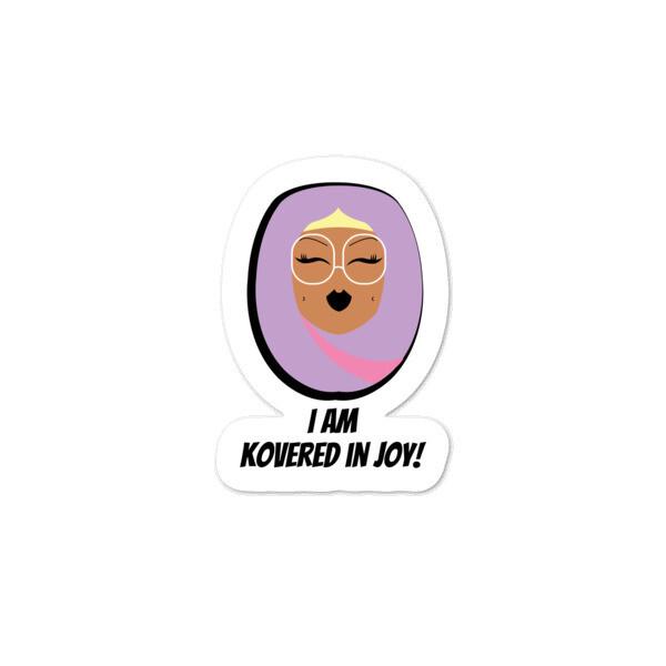 Lilac Hijabi - Bubble-free stickers