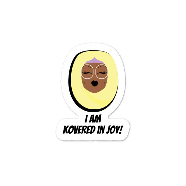 Buttercup Hijabi - Bubble-free stickers