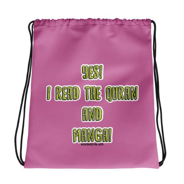 Quran & Manga - Drawstring bag