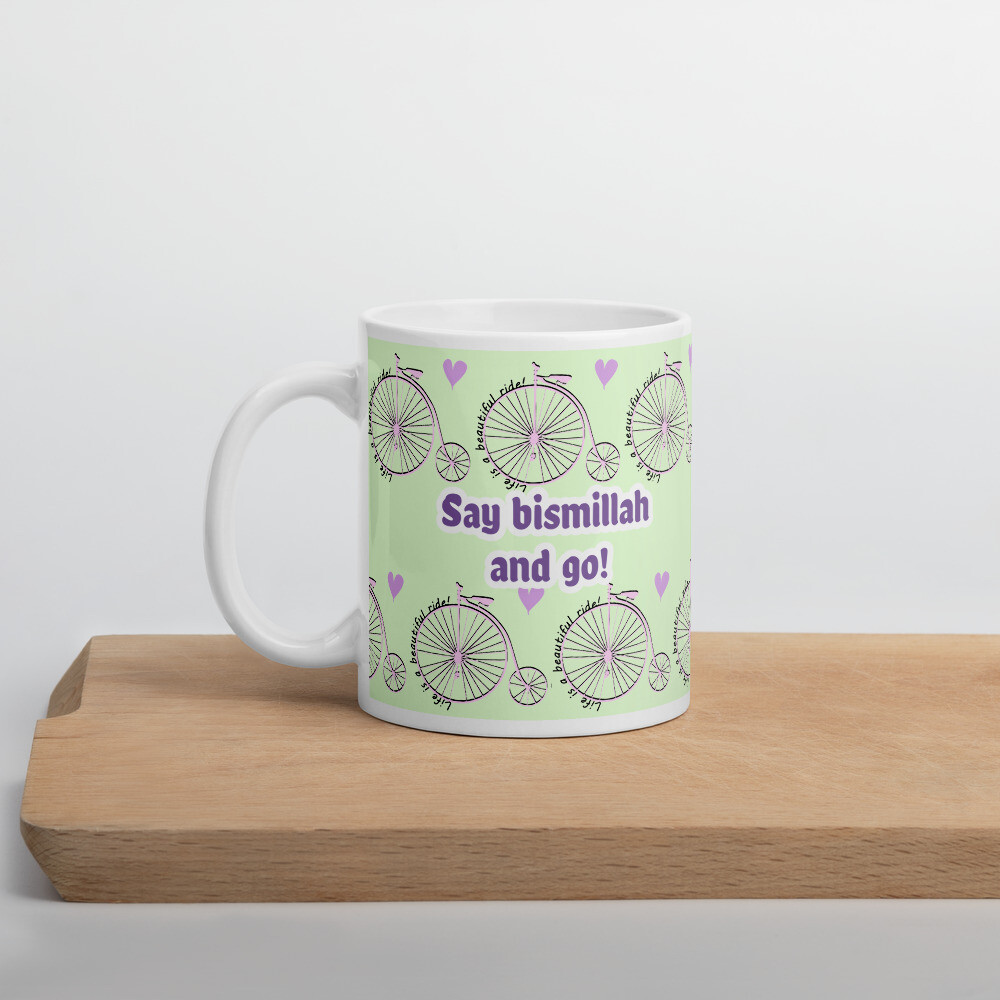 Beautiful Ride - White Glossy Mug