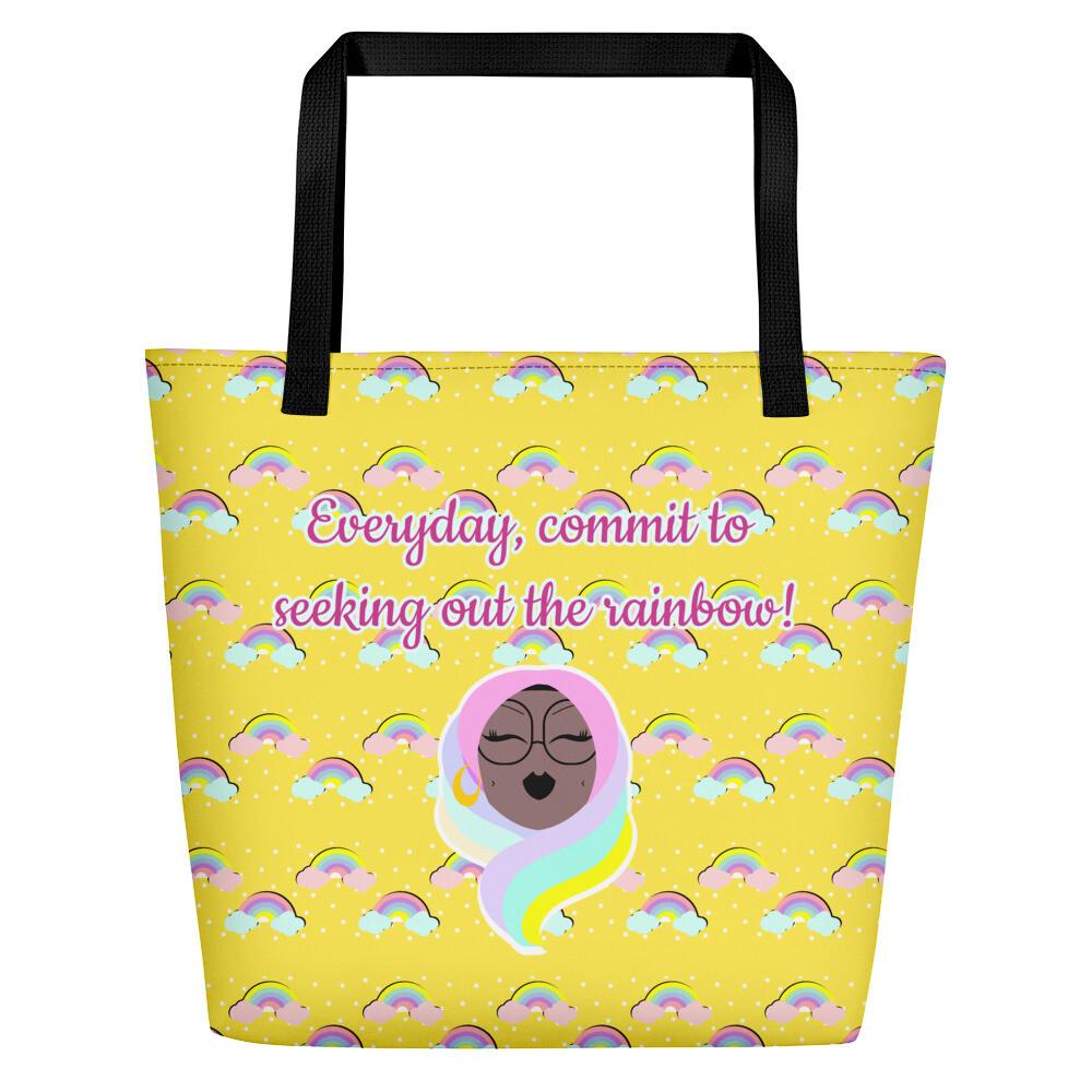 Rainbow - Beach Bag