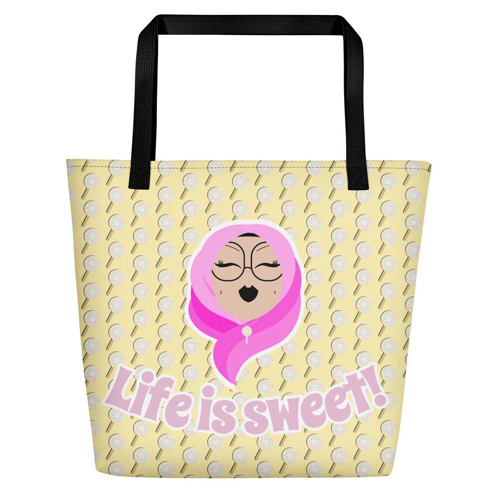 Life is sweet! - Beach Bag