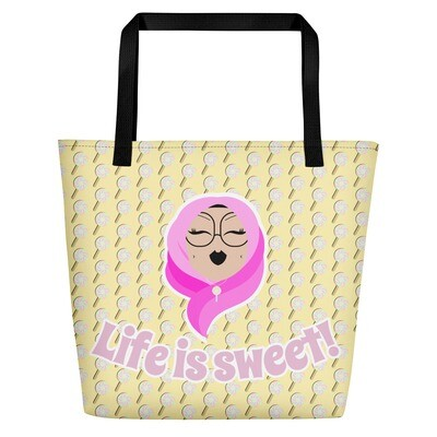 Life is sweet! - Beach Bag
