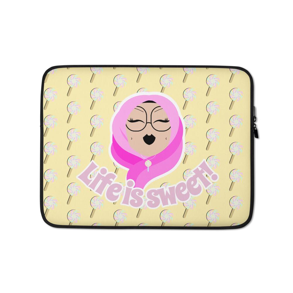 Life is sweet! - Laptop Sleeve