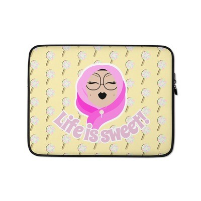 Life is sweet! - Laptop Sleeve