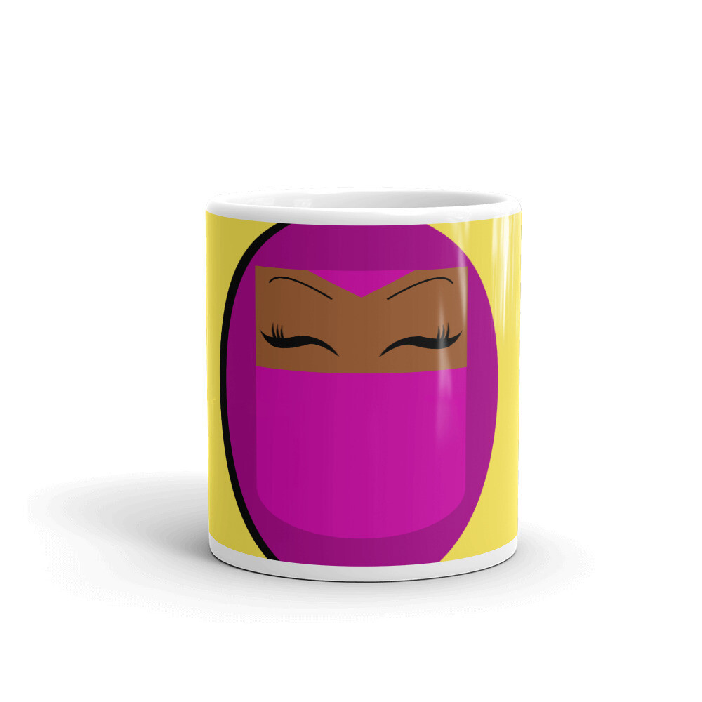 Magenta - Veiled Beauty Mug