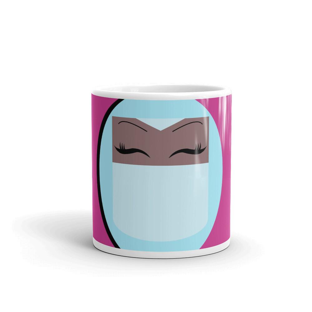 Sky Bluetiful-  Veiled Beauty Mug