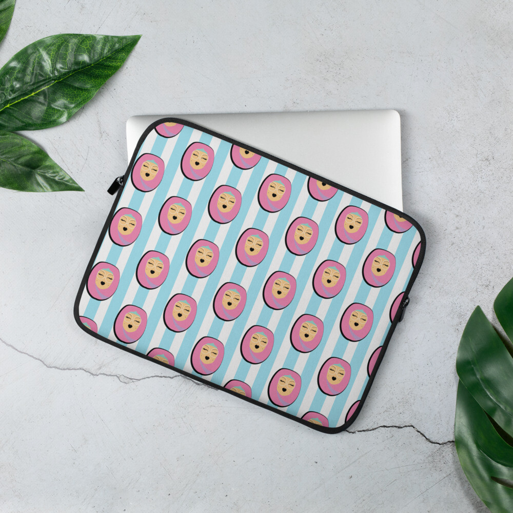 Rose Hijabi -Laptop Sleeve