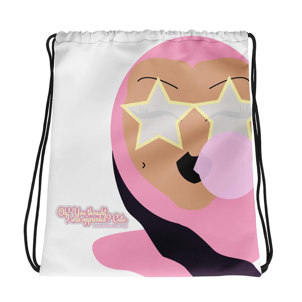 Unoppressed, Unbothered Drawstring bag