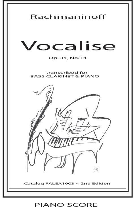 Rachmaninoff: Vocalise (Hard Copy)