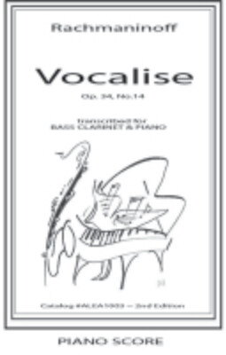 Rachmaninoff: Vocalise (Hard Copy)