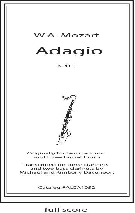 Mozart: Adagio K.411
