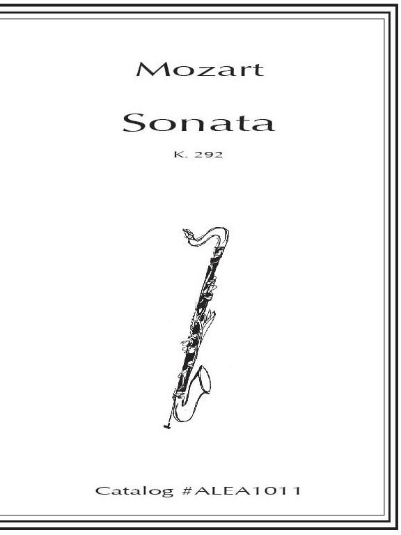 Mozart: Sonata K. 292