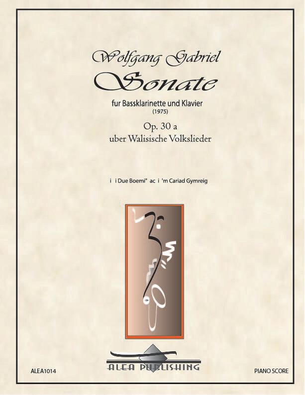 Gabriel: Sonata Op.30 (Hard Copy)