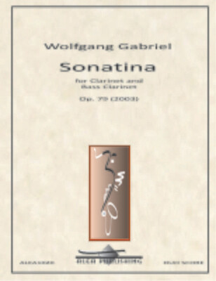 Gabriel: Sonatina Op.79 (Hard Copy)