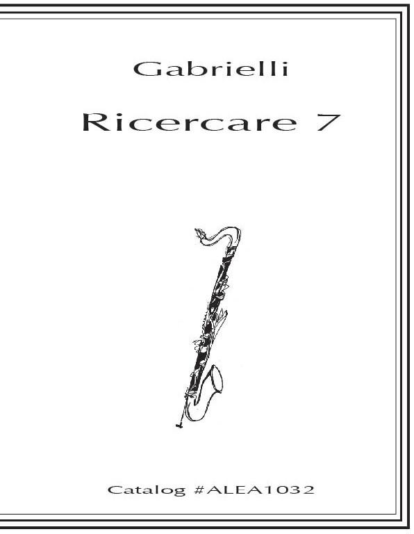 Gabrielli: Ricercare 7 (Hard Copy)