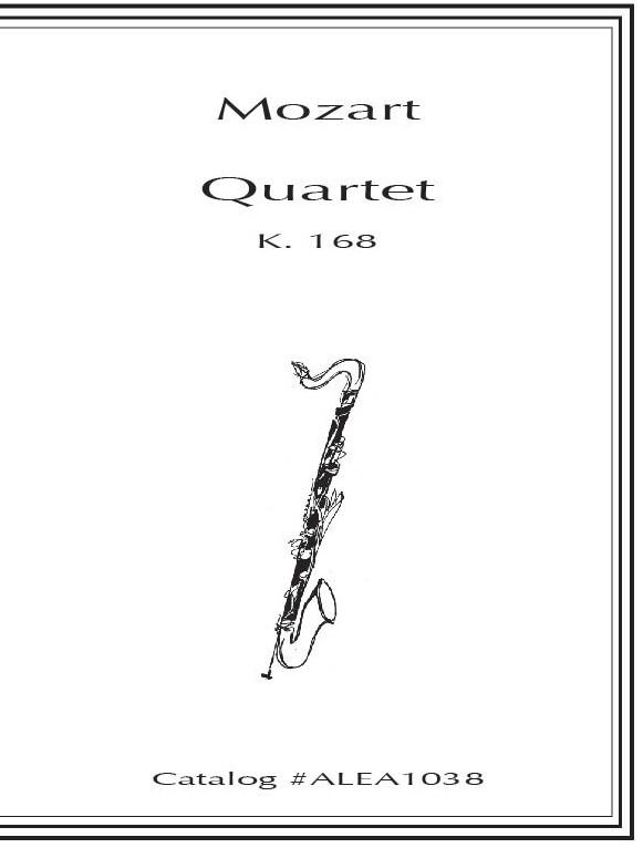 Mozart: Quartet K.168