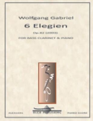 Gabriel: Elegies Op.82 (Hard Copy)