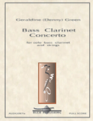 Green: Bass Clarinet Concerto