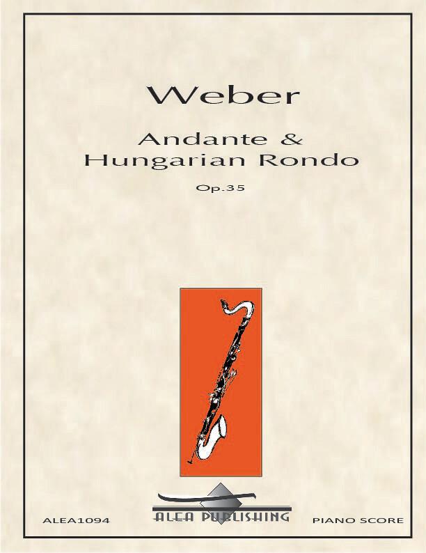 Weber: Andante & Hungarian Rondo Op.35