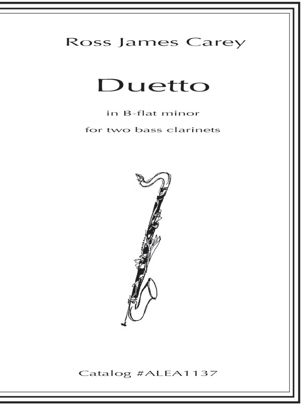 Carey: Duetto in B-flat minor