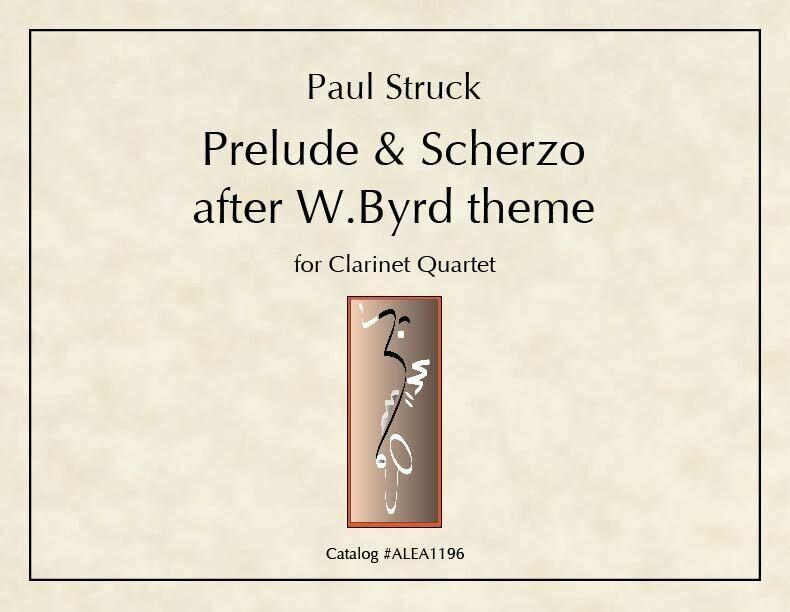 Struck: Prelude & Scherzo after W.Byrd theme