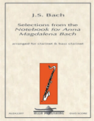 Bach: Selections from the Notebook for Anna Magdalena Bach (Hard Copy)