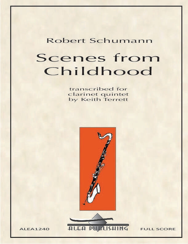 Schumann: Scenes from Childhood Op.15 (Hard Copy)