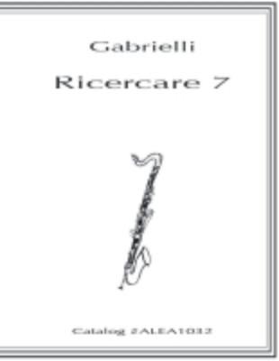 Gabrielli: Ricercare 7 (PDF)