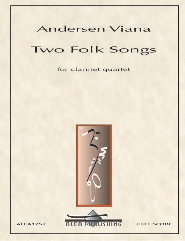 Viana: Two Folk Songs for Clarinet Quartet (Hard Copy)