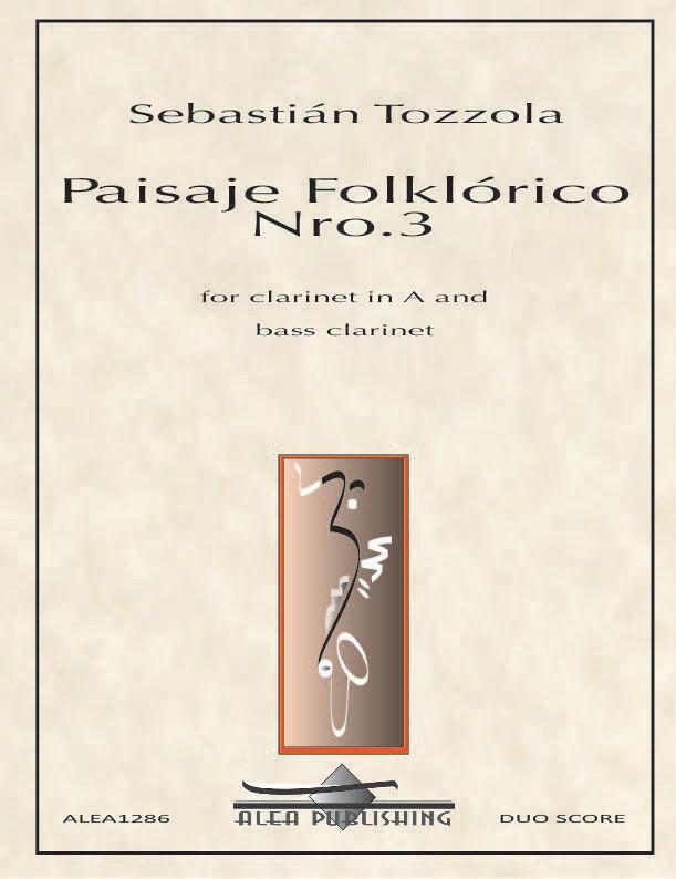 Tozzola: Paisaje Folklorico Nro.3 (Hard Copy)