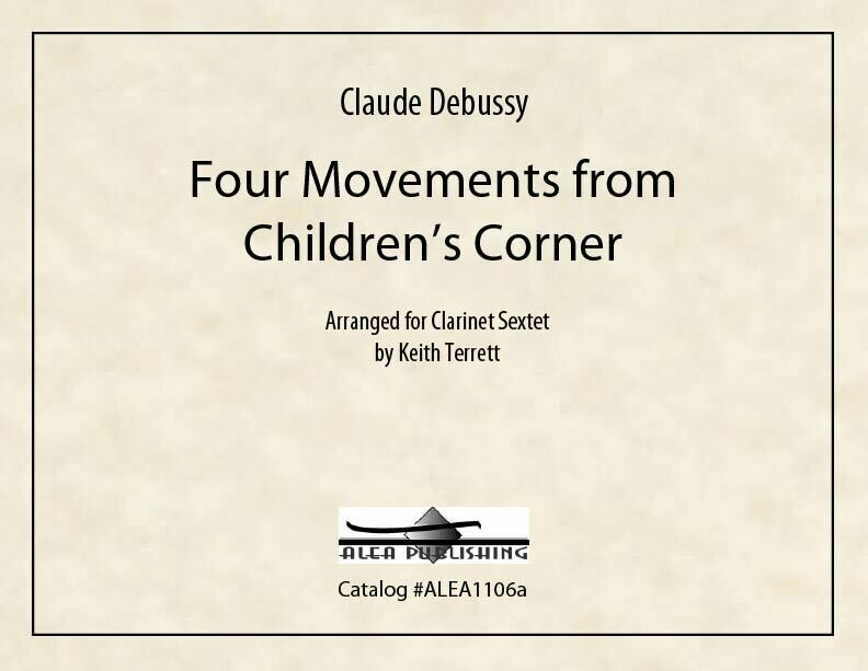 Debussy: Four Movements from Children's Corner (PDF)