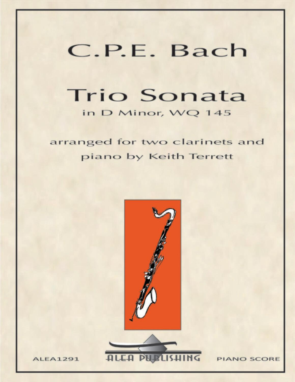 CPE Bach: Trio Sonata (Hard Copy)
