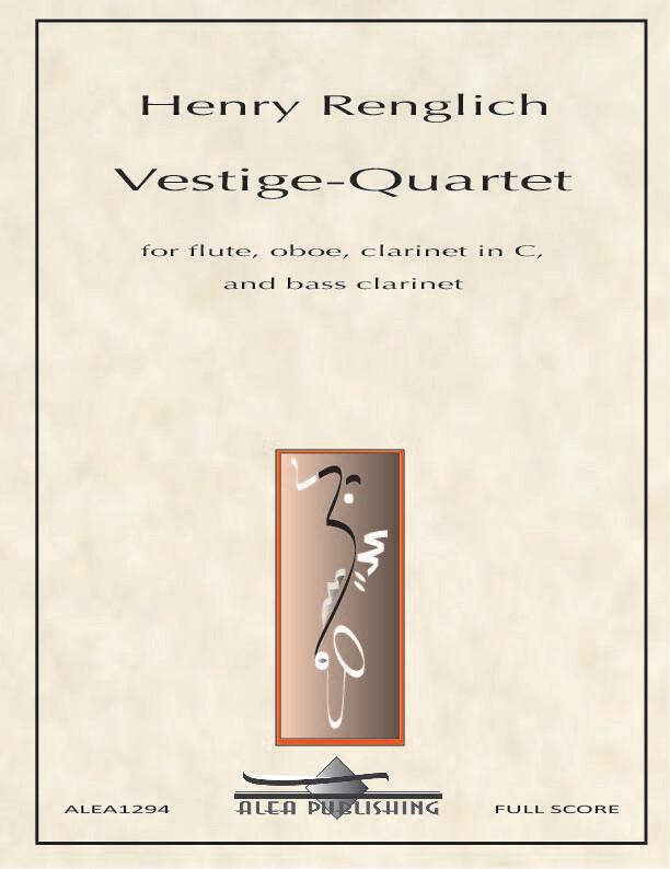 Renglich: Vestige-Quartet (Hard Copy)