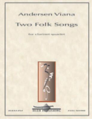 Viana: Two Folk Songs for Clarinet Quartet (PDF)