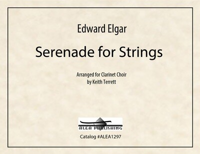 Elgar: Serenade for Strings (Hard Copy)