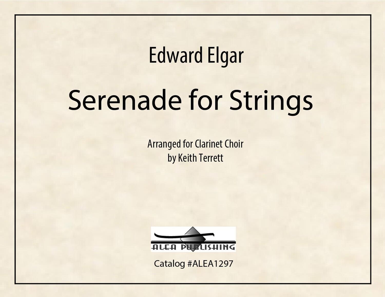 Elgar: Serenade for Strings (PDF)