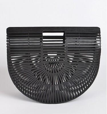 Bamboo Purse - Black
