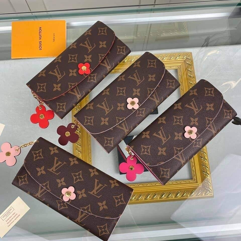 LV Flower Charm Wallets *Authentic Quality*