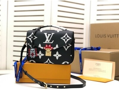 LV Black Crossbody *Authentic Quality*