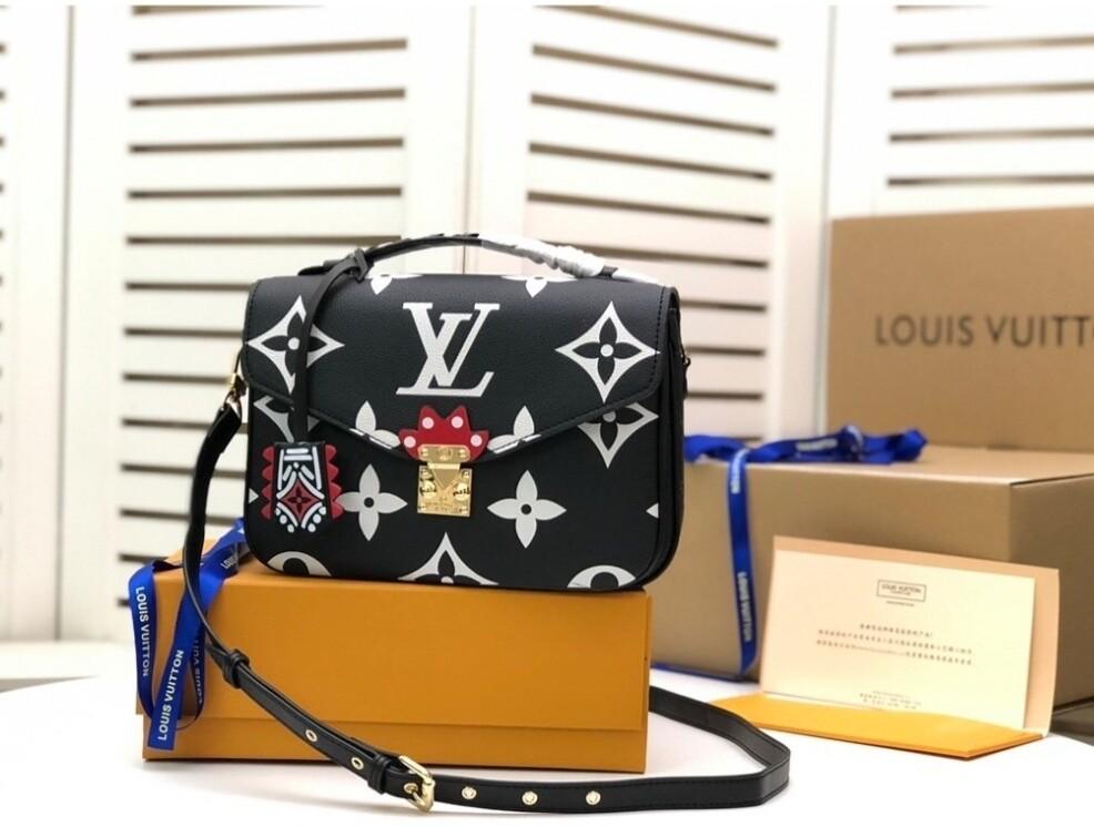 LV Black Crossbody *Authentic Quality*