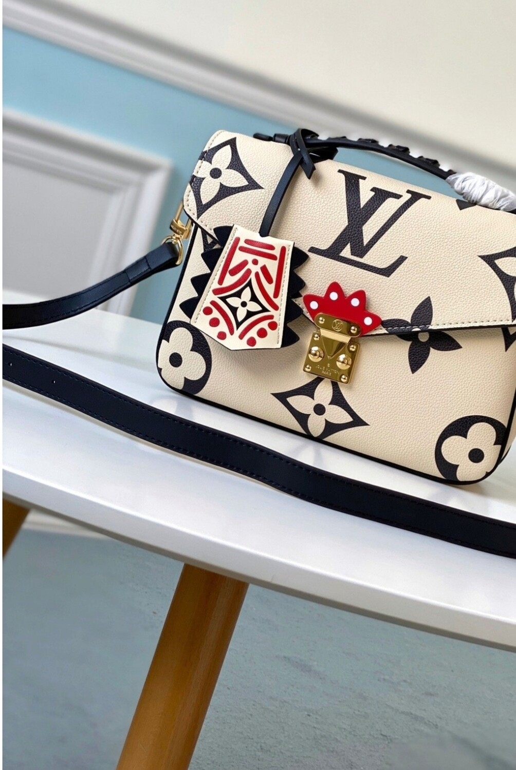 LV White Crossbody *Authentic Quality*