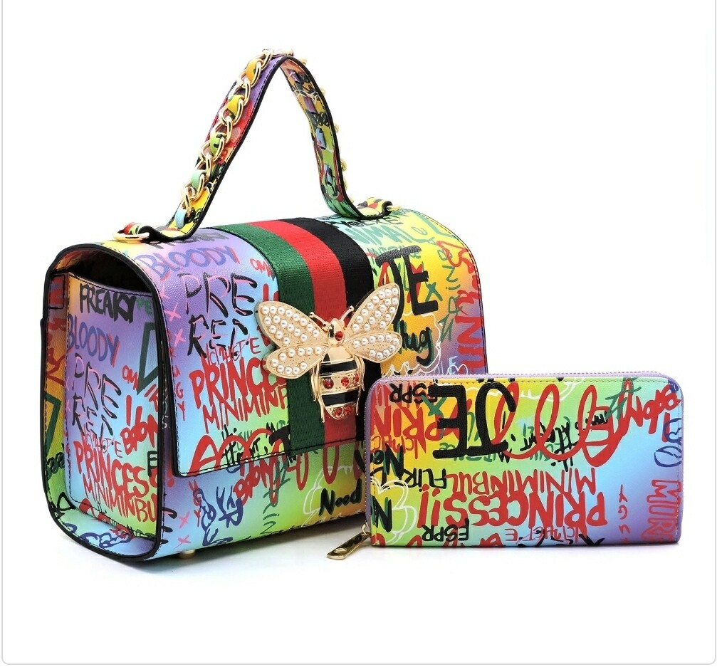 Graffiti Bee 2n1 Satchel-P3